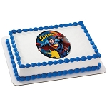 Superman Up, Up and Away Photocake® Image
