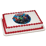 Justice League Cry For Justice Photocake® Image