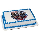 Marvel Civil War Team Captain America Photocake® Image