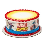 Marvel Comics Comic Pages Photocake® Image Strips