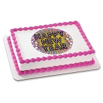 New Year Sparkle Photocake® Image