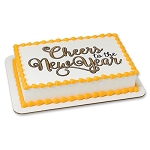 Cheers To the New Year Photocake® Image