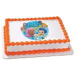 Bubble Guppies Gil & Molly Photocake® Image