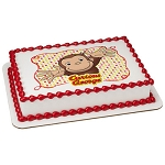 Curious George Let's Celebrate Photocake® Image