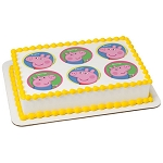 Peppa Pig™ Peppa and George Photocake® Image
