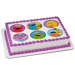 Sesame Street Celebration Photocake® Image