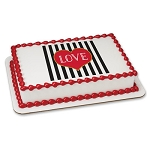 Love-Stripes PhotoCake® Image