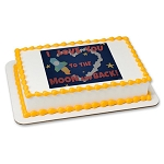 To The Moon And Back PhotoCake® Image