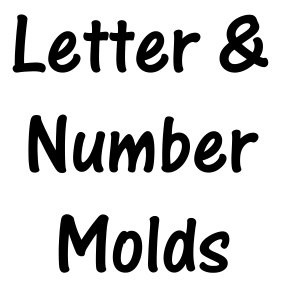 Letter and Number Molds