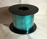 Teal Metallic Curling Ribbon 250 yds.