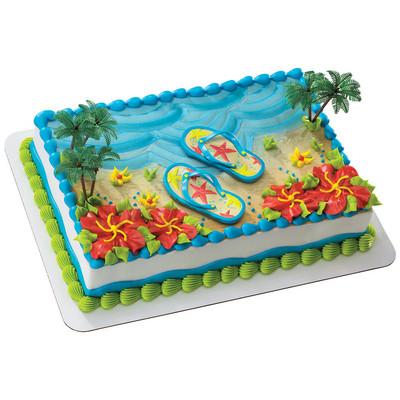 Safeway Cake Decorator Job Description : Flip Flop Cake Kit