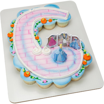 Cinderella Transforms Cake Kit