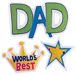 Worlds Best Dad Layon