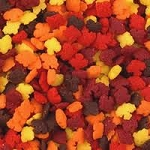 Mini Autumn Leaf Quins 2 oz.