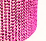 Hot Pink Glam Cake Ribbon- 1 Yard