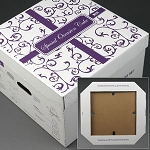 Wedding Cake Delivery Box 17.5x17.5x11.5