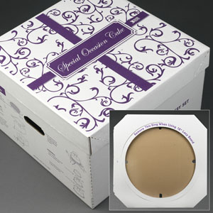 Wedding Cake Delivery Box 22x22x15.5