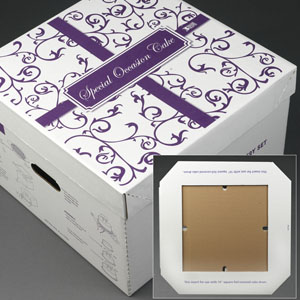 wedding cake delivery box