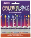 Assorted Color Flame Candles