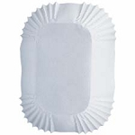 White Petite Loaf Baking Cups Pkg of 50