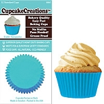 Light Turquoise Standard Baking Cups (32 cups)