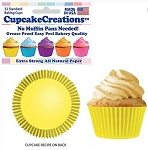 Yellow Standard Baking Cups (32 cups)