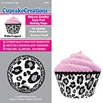 White Leopard Standard Baking Cups (32 cups)