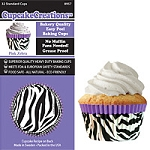 Purple Zebra Standard Baking Cups (32 cups)
