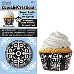 Damask Standard Baking Cups (32 cups)