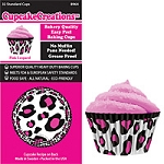 Pink Leopard Standard Baking Cups (32 cups)