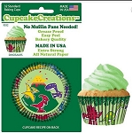 Dinosaurs Standard Baking Cups (32 cups)