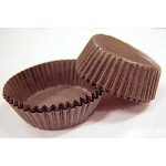 Mint Patty Candy Cups Brown