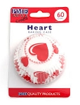 Hearts Standard Baking Cases (60 cups)