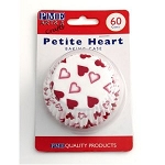 Petite Hearts Standard Baking Cases (60 cups)