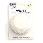 White Standard Baking Cases (60 cups)