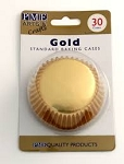 Gold Standard Foil Baking Cases (30 cups)