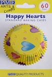 Happy Hearts Standard Baking Cases (60 cups)