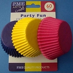 Party Fun Standard Baking Cases (60 cups)