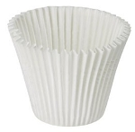 King Size White Baking Cups (24 cups)