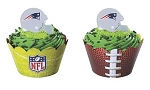NFL Design Cupcake Wrap (24 Count)