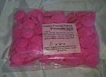 Guittard Pink Strawberry Flavored Colored Chocolate 1 lbs.