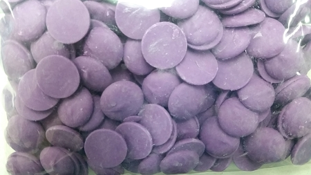 Merckens Orchid Colored Chocolate 1 lb.