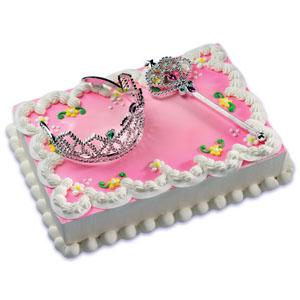 Princess Cake Decoration Kit : Princess Cake Kit