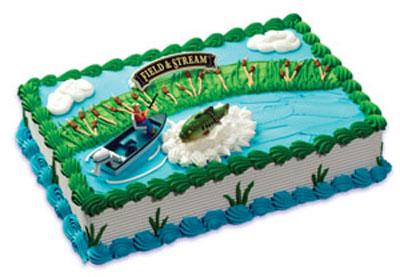 Field And Stream Bass Fishing Cake Kit