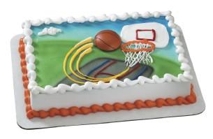 Basketball Magnet Cake Kit