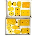 Small Plaque Cutter Set(16 Pieces)