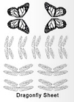Dragonfly/Butterfly Individual Sheet
