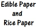 Edible Paper/Rice Paper