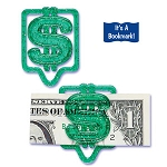 Money Clip Bookmark