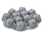 Mini Rose Bundt Pan
